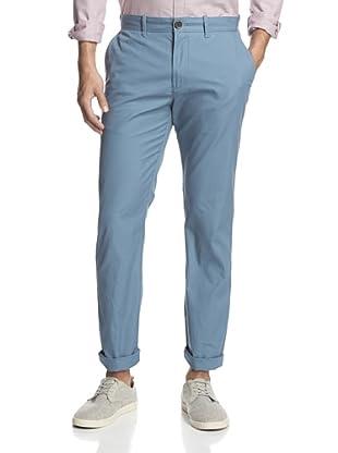 Original Penguin Men's Solid Pants (Aegean Blue)