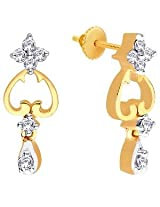 Sangini Gold & Diamond Earrings