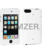 Amzer 86038 Polished White Snap on Crystal Hard Case for iPod Touch 3rd Gen, iPod Touch 2G
