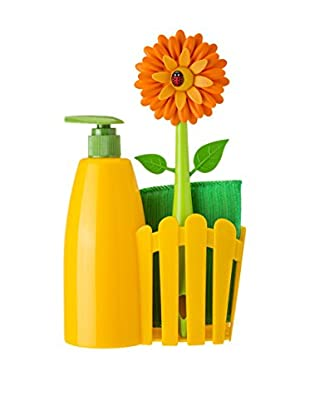 VIGAR Kit de Limpieza 4 Piezas Naranja / Verde