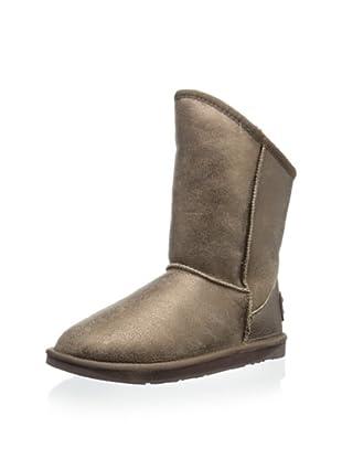 Australia Luxe Collective Women's Cozy Short Vintage Metallic Boot (Bronze)