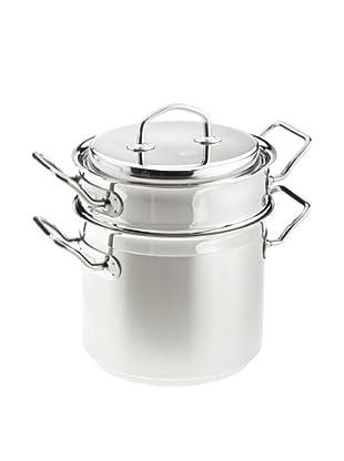 Rösle Teknika Asparagus Pot with Lid & Insert, 6.6-Qt.