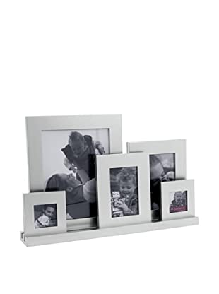 Present Time All in the Family 5-Photo Frame, Silver