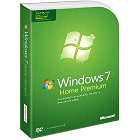 Windows 7 Home Premium AbvO[h