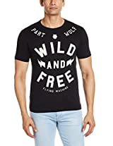 Flying Machine Men's Cotton T-Shirt