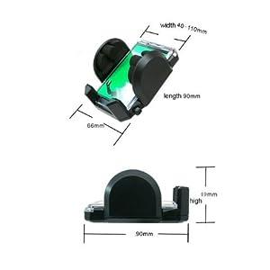 Fly Universal Car Windshield Mount Holder Stand Cradle for Mobile Smartphone