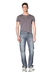 Earnest Sewn Men's Hemingway Full Leg Jean (Morrissey)