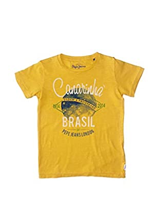 Pepe Jeans Camiseta Manga Corta Brazil Junior