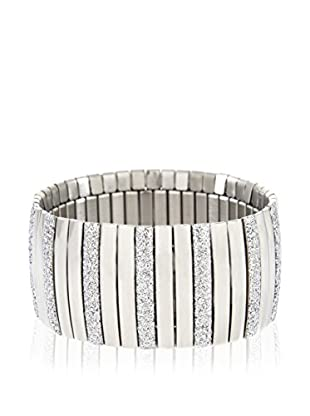 Lucy Steel Armband Glitter stahl