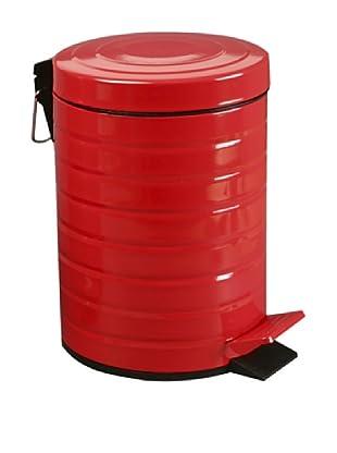 Zings Cubo Con Pedal Rojo 5 L