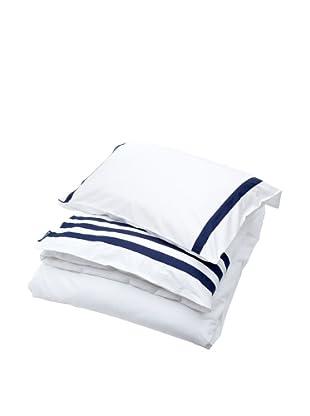 Lexington Company Juego Funda Nórdica Rayas (Blanco / Azul)