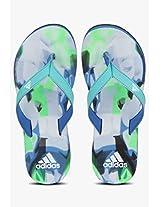 Glideslope Green Flip Flops Adidas