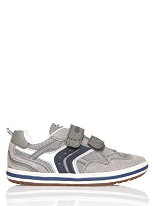 Geox Zapatillas Jr Vita Art.l (Gris / Royal)