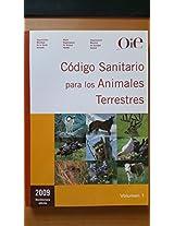 Codigo sanitario para los animales terrestres 2009