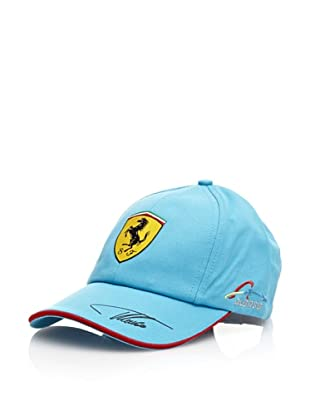 Ferrari Gorra Fernando Alonso (Azul / Roja)