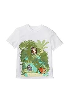 SwitchittZ Boy's Tropic Jungle Tee (White)