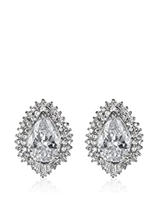 CZ BY KENNETH JAY LANE Ohrringe Double Pave