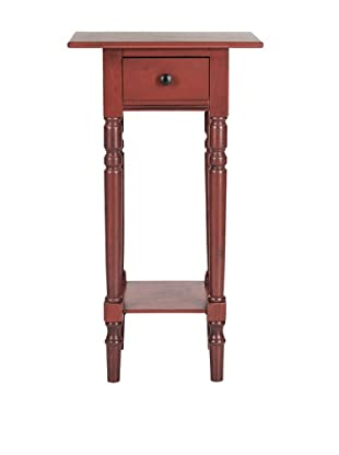 Safavieh Sabrina End Table, Red
