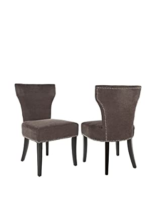 Safavieh Set of 2 Jappic Side Chairs, Bark