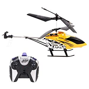 Dual Rotor Helicopter - Yellow & Black