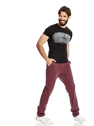 Desigual Pantalón Chino Tigre Rep