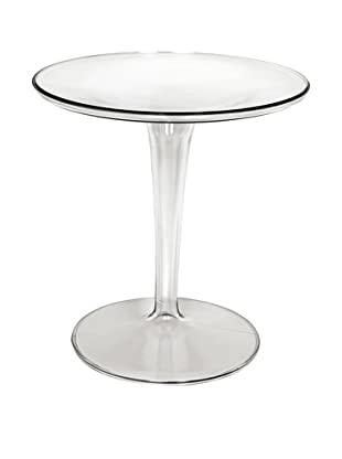 Control Brand Space Tulip Side Table, Clear