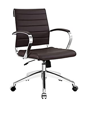 Modway Jive Mid Back Office Chair (Brown)