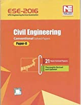 ESE-2016: Civil Engineering Conventional Solved Paper II (Old Edition)