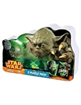Star Wars Heroes 2 Pk Puzzle Set Tin