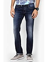Blue Low Rise Skinny Fit Jeans Pepe Jeans