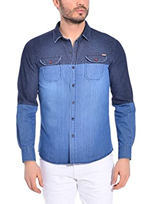 RNT23 Hemd Denim Slim