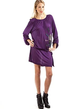 Custo Vestido Jalis Rubi (Púrpura)