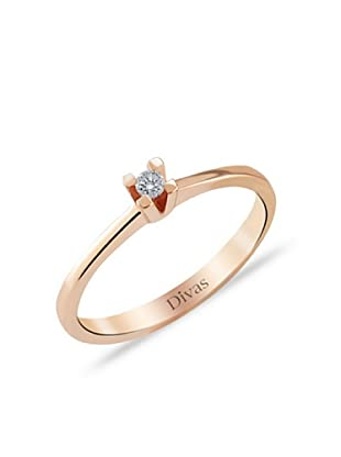 Divas Diamond Anillo Diamante Solitario DVS176385