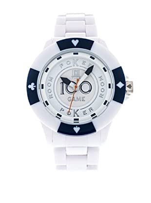 Light Time Reloj Poker Blanco / Marino