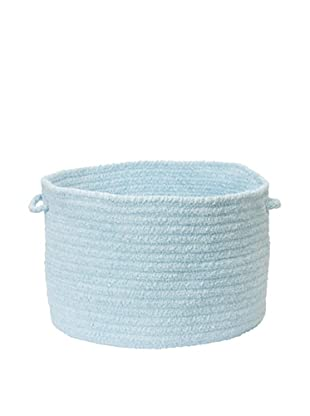 Colonial Mills Simple Chenille Basket (Sky Blue)