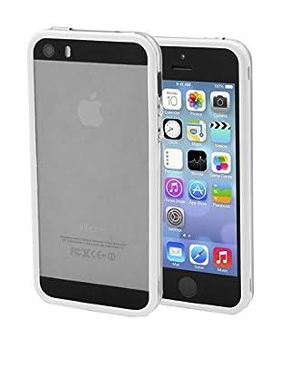 Unotec Bumper Dual Color iPhone 5/5S Blanco