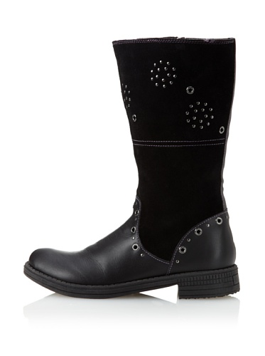 umi Kid's Chaarm Tall Boot (Toddler/Little Kid) (Black)
