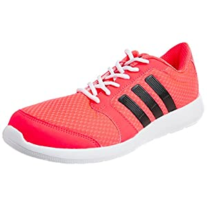 Adidas Women's Hellion W Pink and White Mesh Running Shoes - 7 Uk