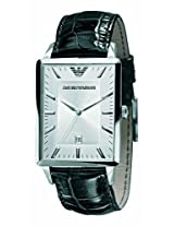 Emporio Armani Classic Analog Silver Dial Men's Watch - AR2417