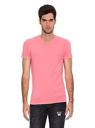 Six Valves Camiseta Manga Corta Flúor (Rosa)