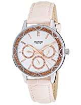 Casio Enticer Analog White Dial Women's Watch - LTP-2087L-4AVDF (A912)