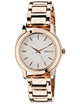 DKNY Analog White Dial Women's Watch - NY2210I