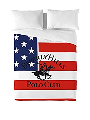 Beverly Hills Polo Club Bettdecke und Kissenbezug Pacific
