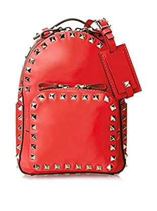 Valentino Women's Rock Stud Backpack, Red
