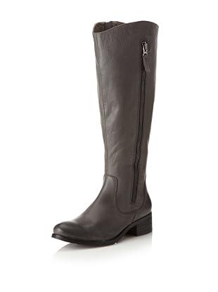 Chocolat Blu Women's Norman Side Zip Long Boot (Grey)