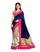 AASRI Women Party Wear Bhagalpuri Silk Fancy Saree With Blouse Piece