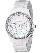 Fossil Designer ES1967 Analogue Watch - For Women