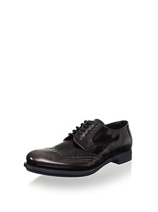 Prada Men's Oxford Brogue Lace Up (Black)