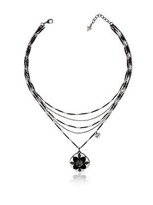 Guess Halskette UBN91001 silberfarben