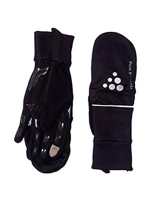 Craft Handschuhe Hybrid Weather schwarz